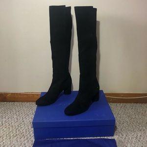 349d02ca69f Stuart Weitzman Shoes - ♢️Stuart Weitzman Eloise Suede Knee-High Boots